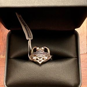 Harley-Davidson Women's Bling Filigree Heart